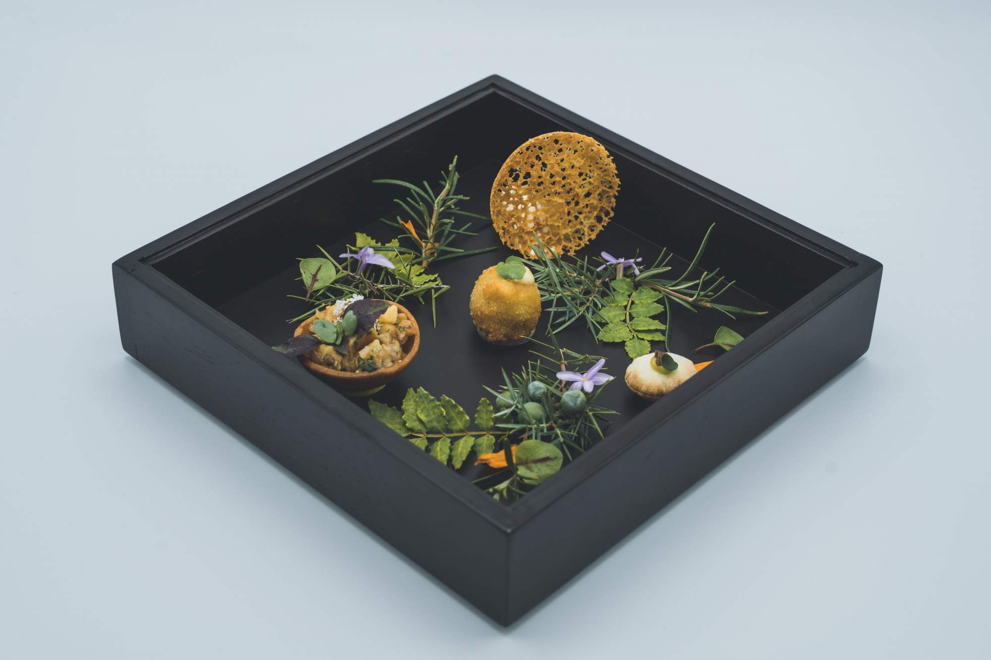 Dish made by Chef Jérôme Nutile Best Craftsman of France 2011